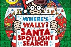 BOOK REVIEW: Where's Wally? Santa Spotlight Search by Martin Handford