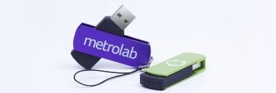 Swivel Metal USB