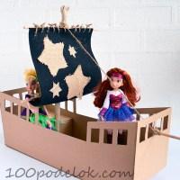 Как сделать пиратский корабль