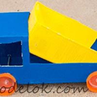 Машина из коробки