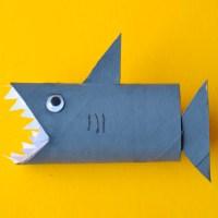 Акула из бумаги