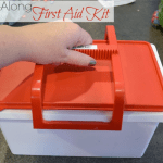 Make your own take-along first aid kit