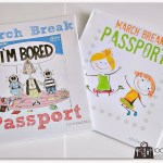 March Break passports for kids