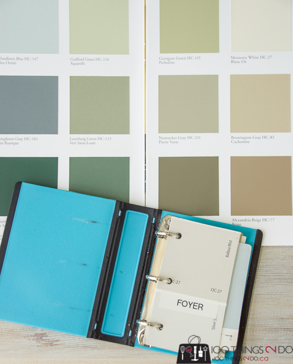 How To Keep Track Of Paint Colors 100 Things 2 Do