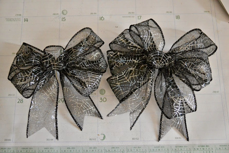 How to make a large bow (for a hair band)