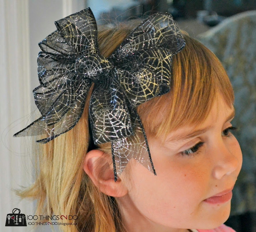 How to make a large bow for a headband