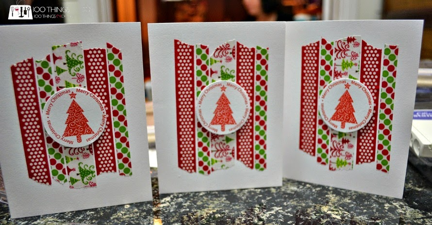 CAS (clean and simple) Christmas cards