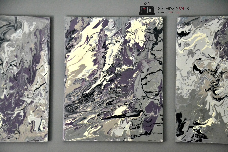 creating canvas art. Abstract art 45 How to paint abstract  100 Things 2 Do