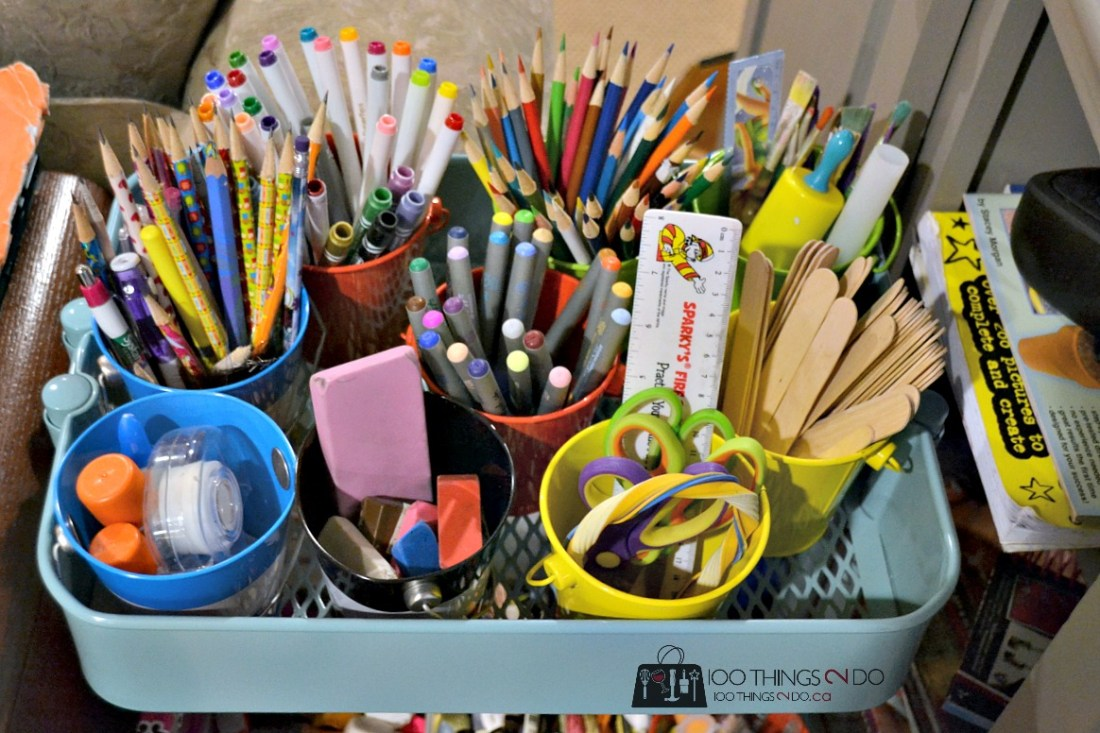 Organizing kids crafts 21