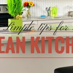 Simple tips for a clean kitchen