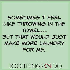 Too funny: more laundry