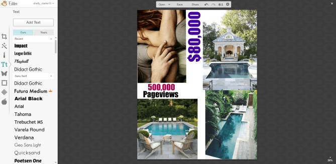 Create a vision board using Pinterest and PicMonkey
