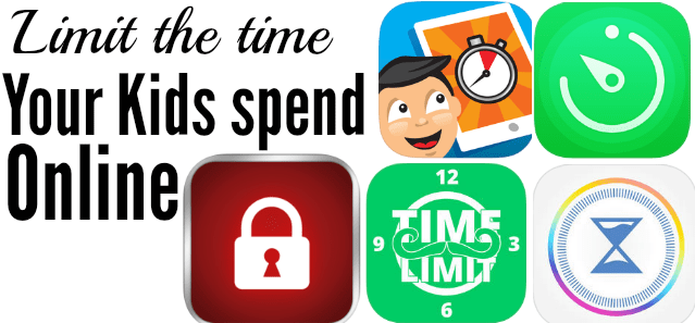 Limit the time your kids spend online - timer apps