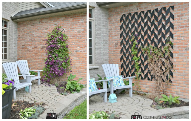 Iron trellis by Red Iron Design.ca