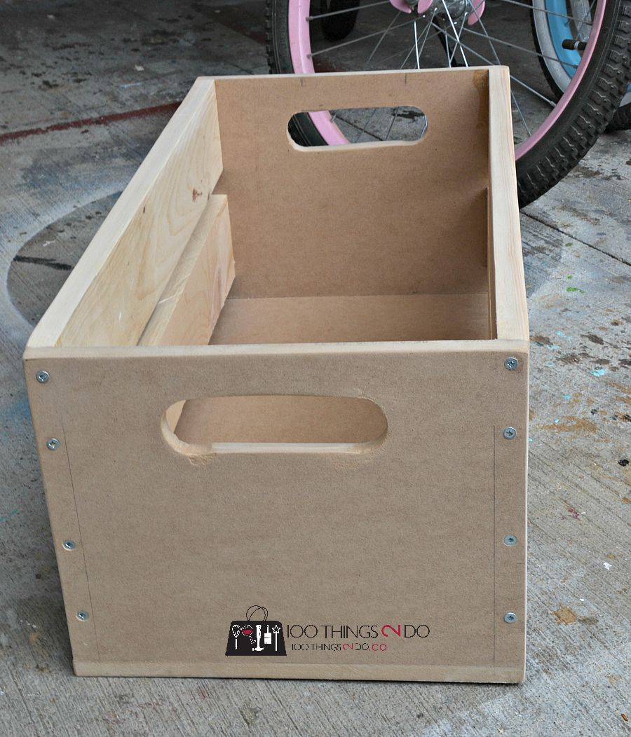 DIY crate, wood crate, DIY wood crate, build your own crate, scrap wood crate