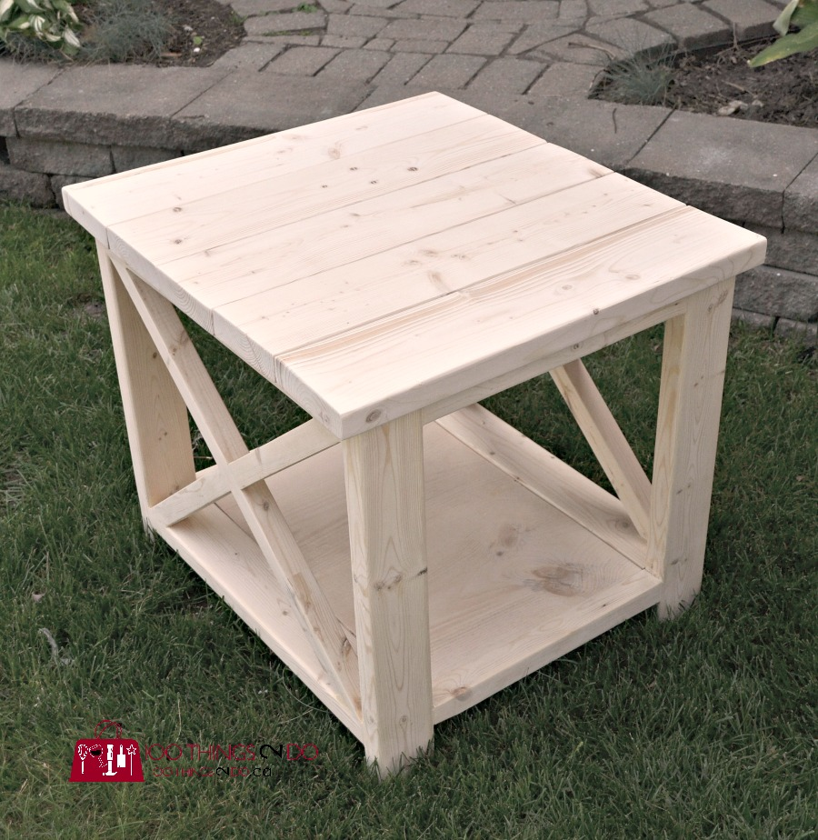 Tremendous Diy Rustic X Side Table 100 Things 2 Do Home Interior And Landscaping Dextoversignezvosmurscom