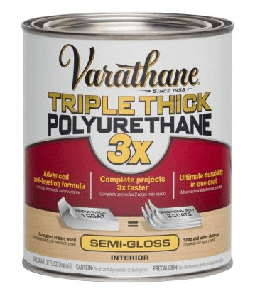 Varathane Triple Thick in semi-gloss