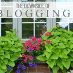 The downside of blogging