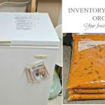 Organize, Inventory, & stockpile your freezer for Winter