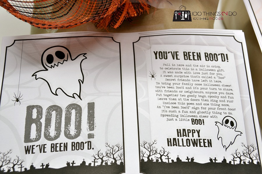 You've been Boo'd!