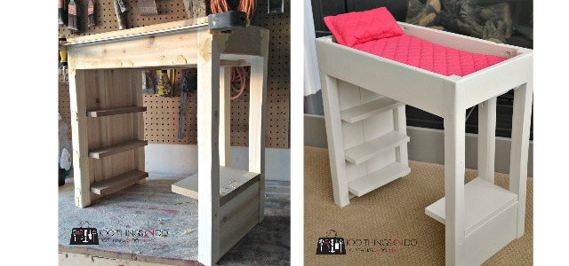 DIY American Girl Loft bed - just $16!