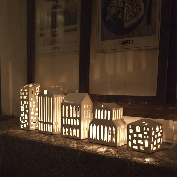 Tea light house - Kahler
