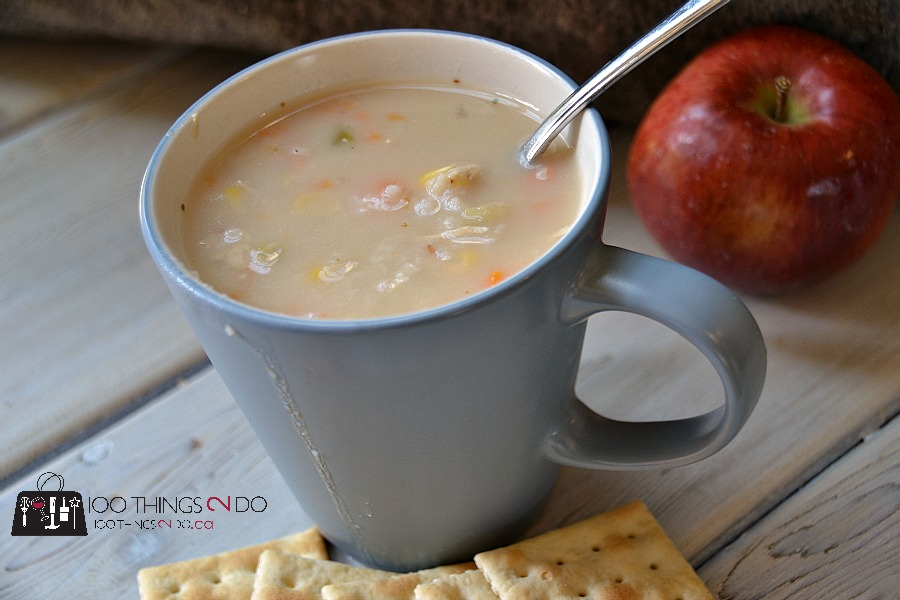 Hearty Chicken & Rice Soup