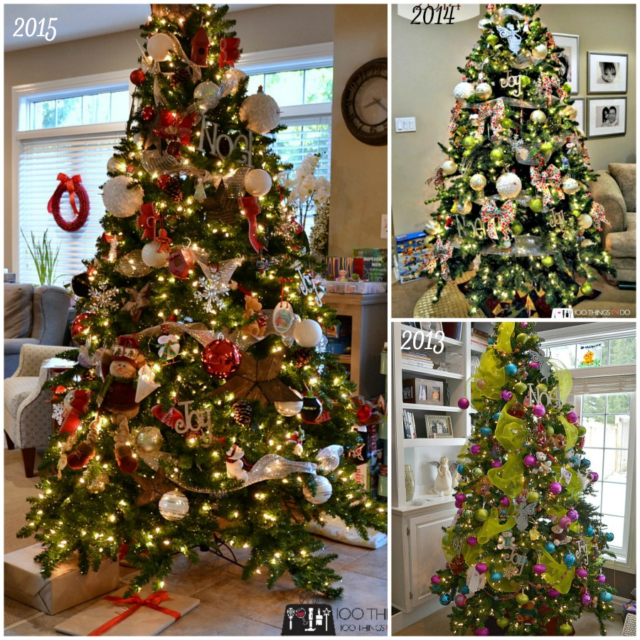 Christmas tree - three versions