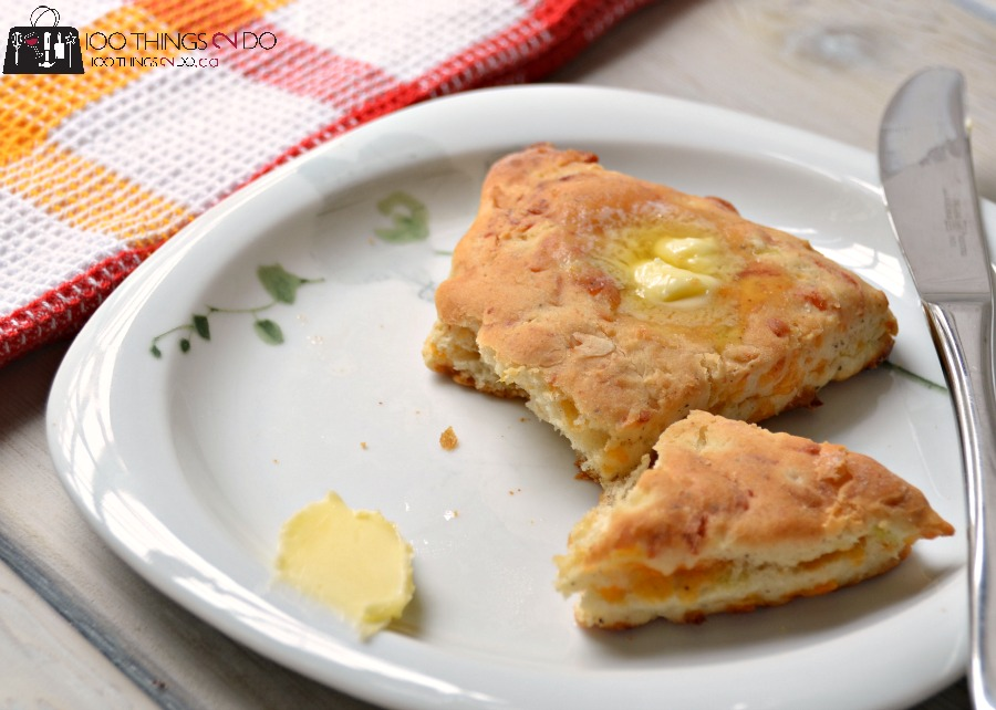 Cheese & Onion scone