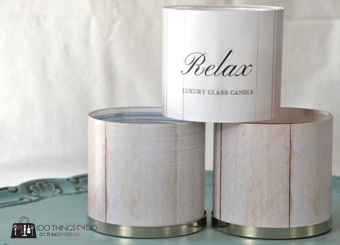Candle wraps - 8