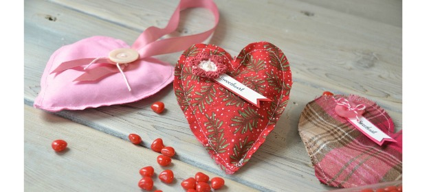 Heart Sachet - for your linen closet, car, drawers or clothes closets