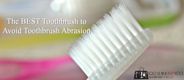 The BEST toothbrush to reduce toothbrush abrasion - Pluma Soft