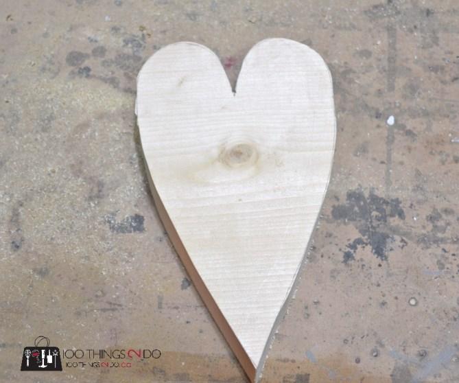 Scrap Wood Hearts - 3