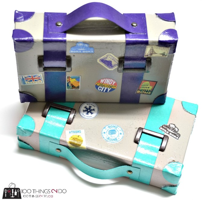 Suitcase Paperweights - 8