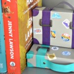 Make your own vintage suitcase paperweights / bookends