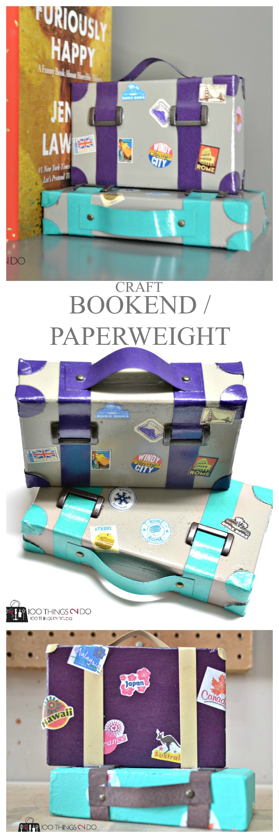 Suitcase Paperweights - P