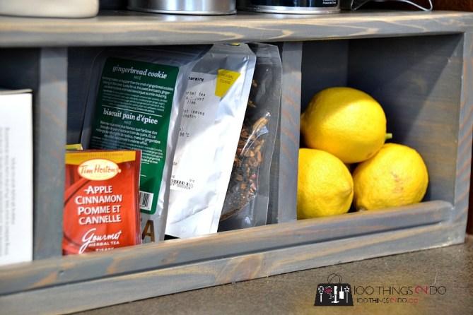 DIY Coffee - Tea Station 3