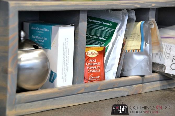 DIY Coffee - Tea Station 4