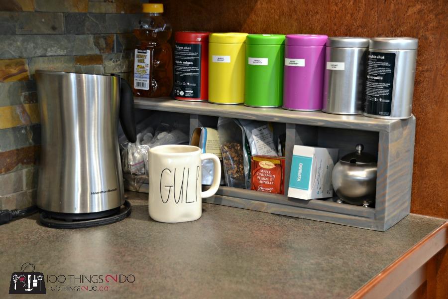 DIY Coffee - Tea Station 5