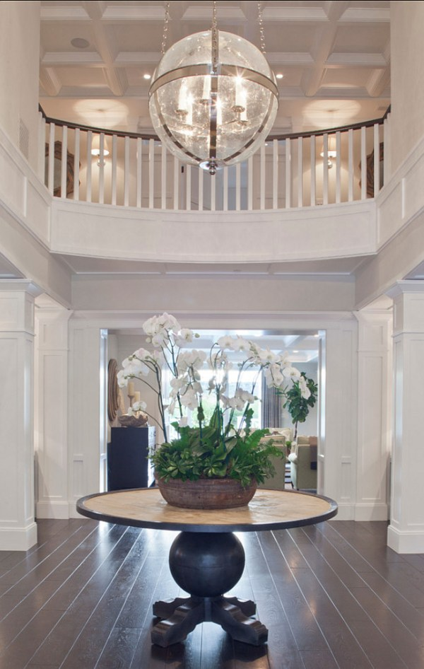 Styling your entryway - grand foyer