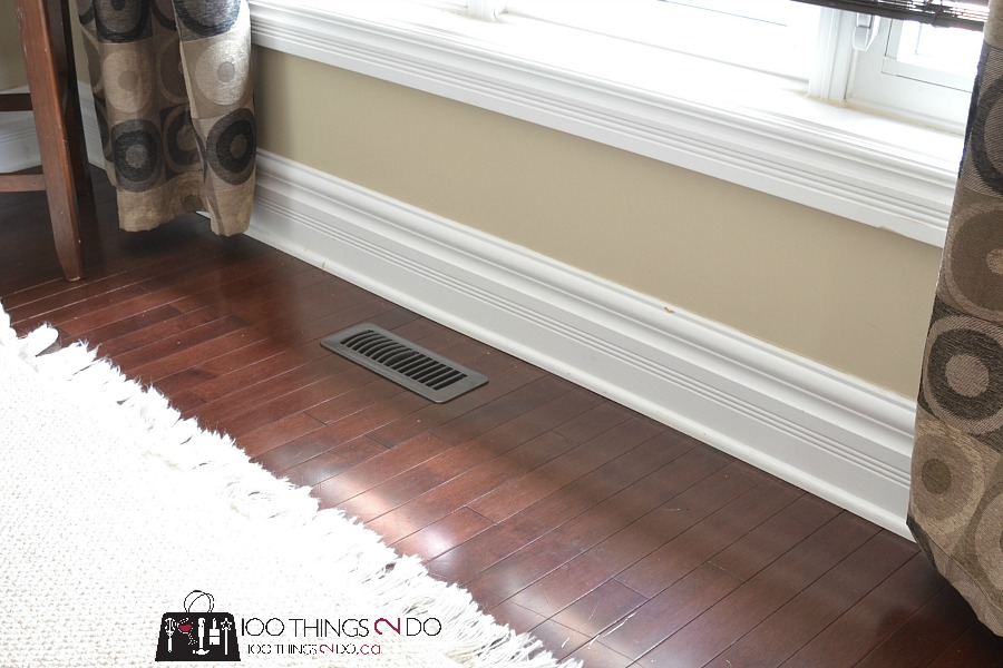 How to makeover your floor register vents