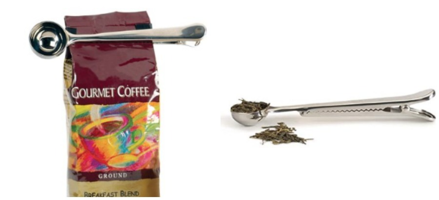 Coffee scoop and clip - gadgets I need
