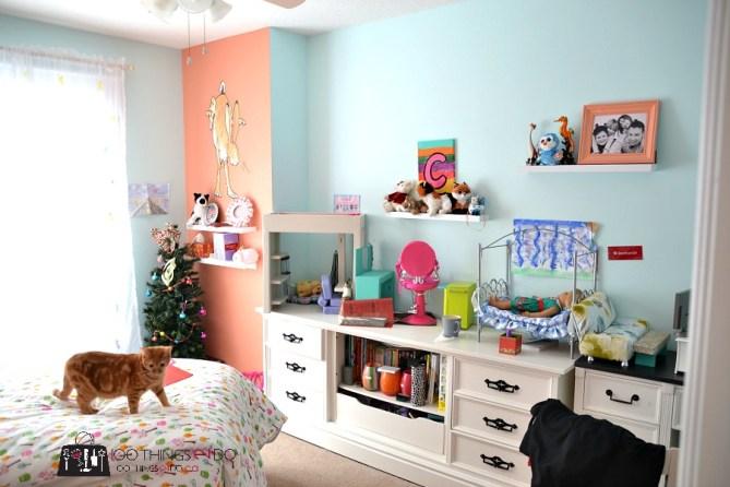 Pre-Tween Girls bedroom 4