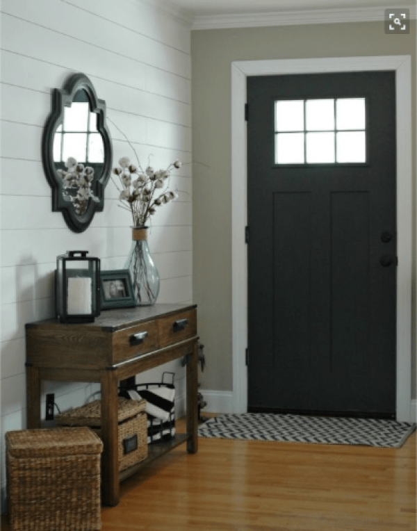 Styling your entryway