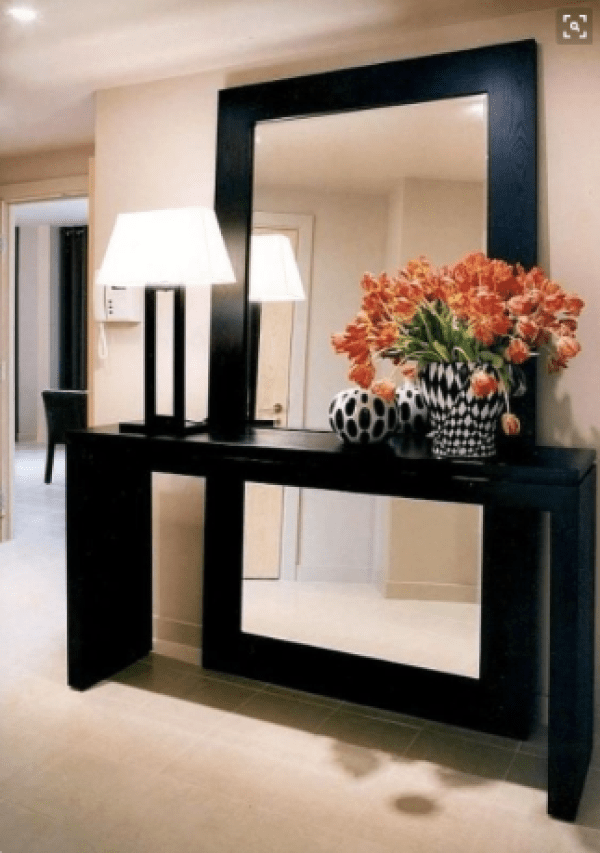Styling your entryway - Mirrors