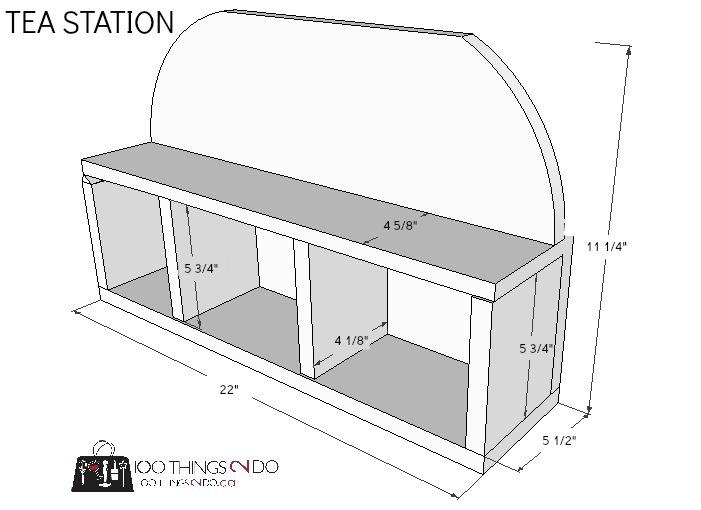 DIY Coffee / Tea Station