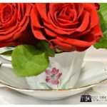 Make your own teacup bouquet