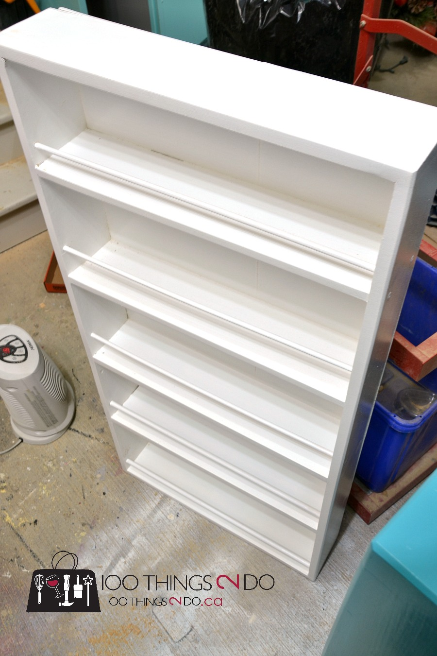 DIY Door Mounted Spice Rack | 100 Things 2 Do