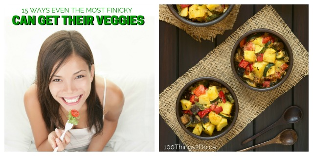 How to get finicky eaters to eat vegetables