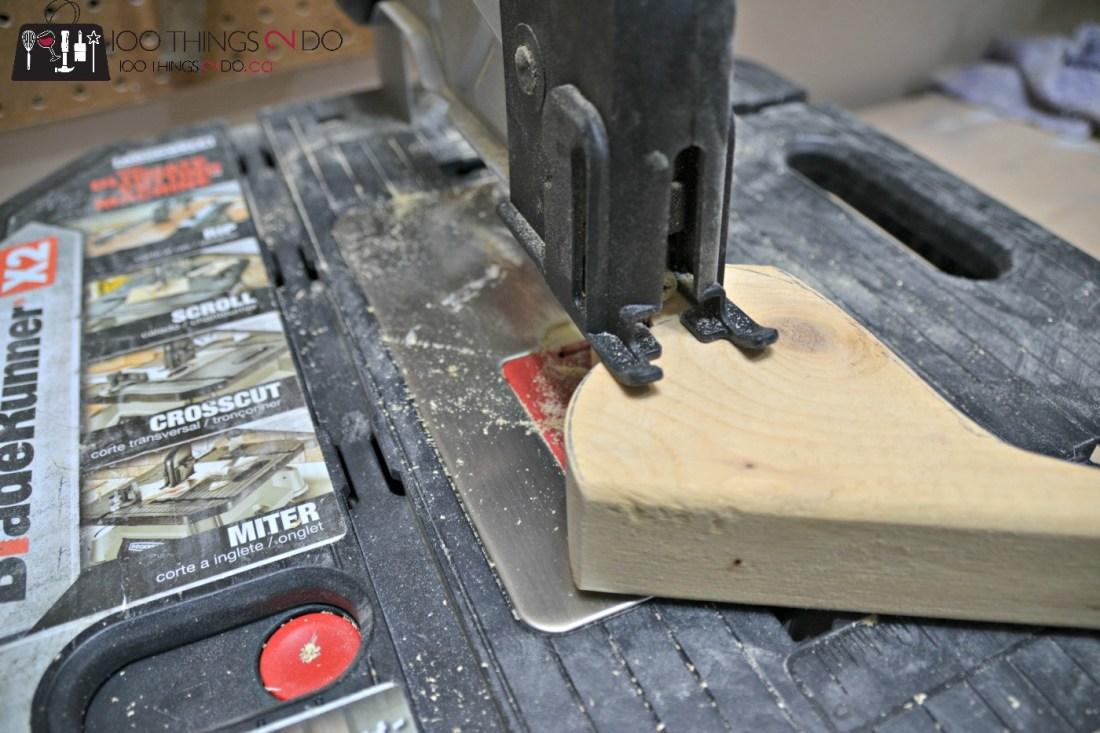 DIY Door stop - Scrap wood bird doorstops